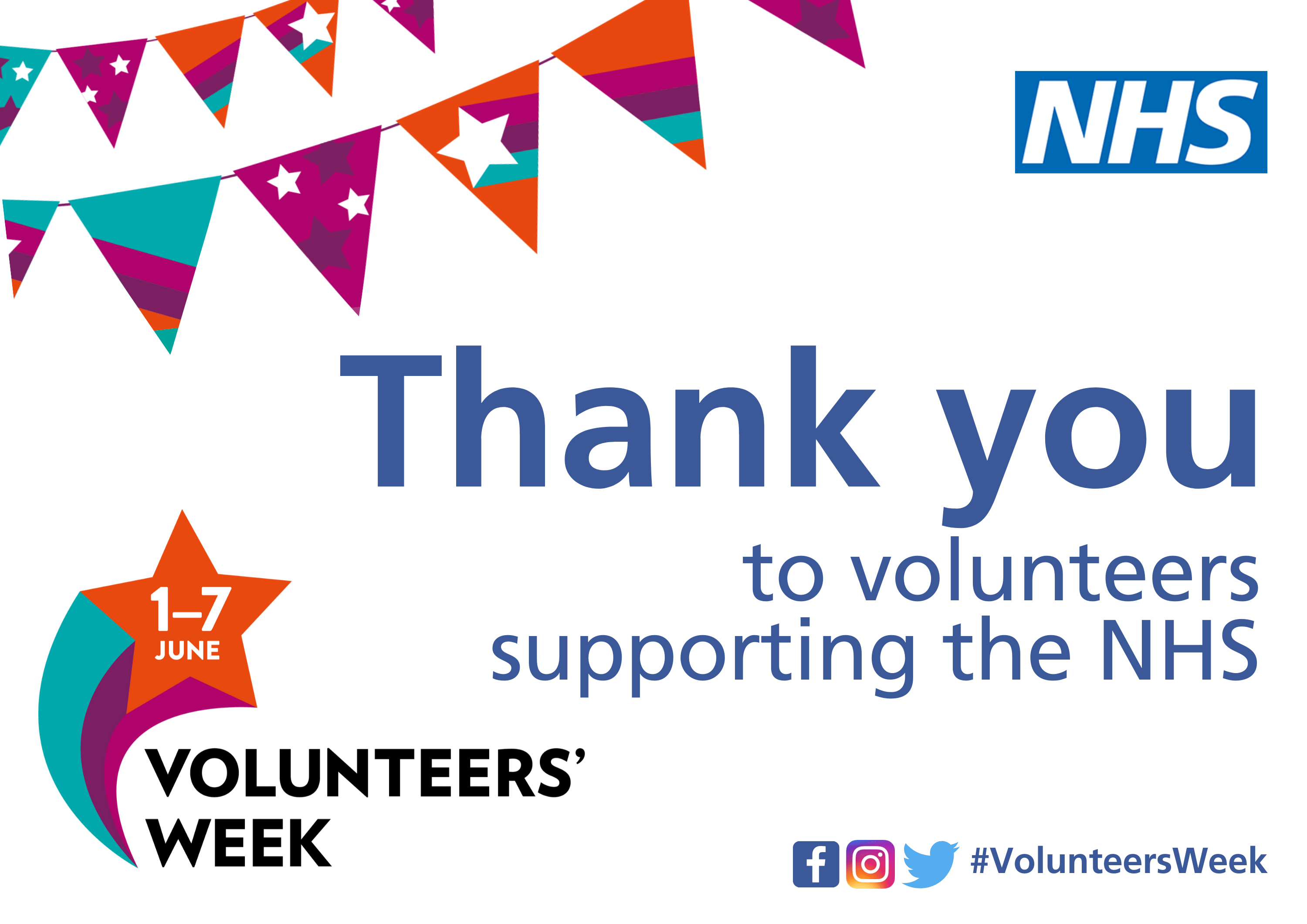 NHS system- National Volunteers' Week