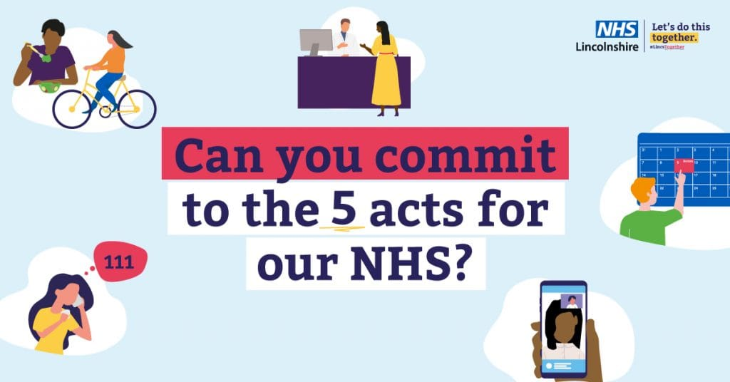5 acts for our NHS