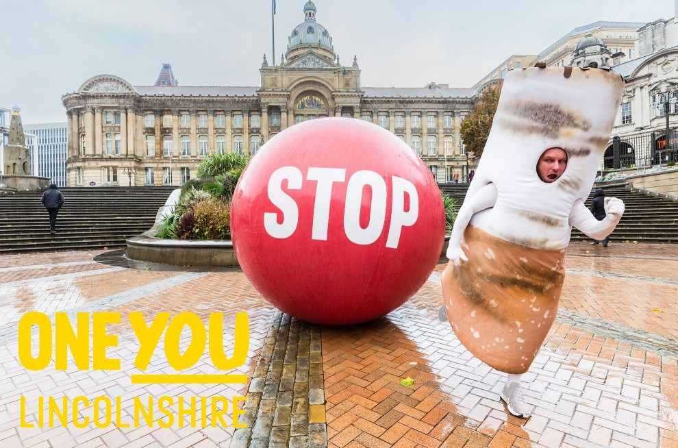 Stoptober support - One You Lincolnshire